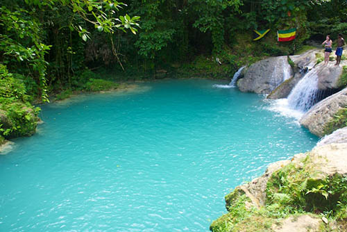 Blue Hole near Ochos Rios