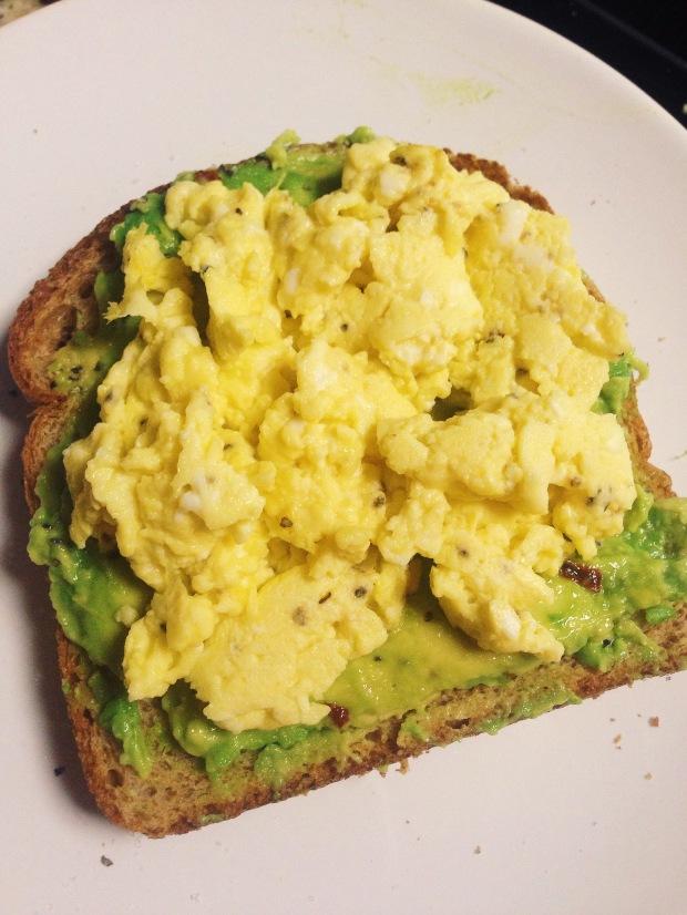 Avocado Egg Toast | Diamonds & Bacon