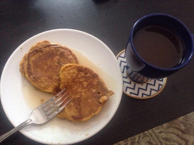 Pumpkin Spice Pancakes | Diamonds & Bacon